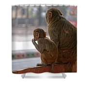 Zoo Reverse Shower Curtain