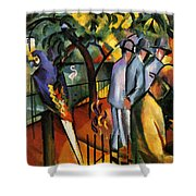 Zoological Garden Shower Curtain