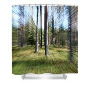 Zoom Photo Shower Curtain