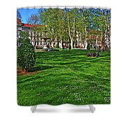 Zrinski Park Shower Curtain