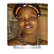 Zulu Beauty Shower Curtain