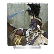 Zulu Pride Shower Curtain