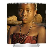 Zulu Princess Shower Curtain