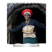 Zulu Woman Shower Curtain