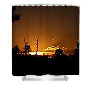 Zuni Mountain Gold  Shower Curtain