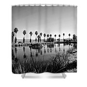 Zyzzx Lake Two Shower Curtain