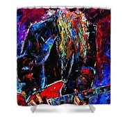 Zz Top Billie Gibbons Shower Curtain