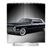 1966 Cadillac Coupe Deville Shower Curtain