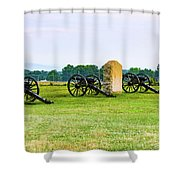 4th United States Artillery Shower Curtain