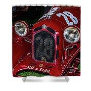 A 1930 Alfa Romeo 6c 1750 Gs  Shower Curtain