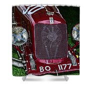 A 1933 Maserati 8c 3000 Biposto Shower Curtain