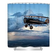 Above It All Shower Curtain