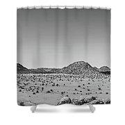 African Desert Panorama Shower Curtain
