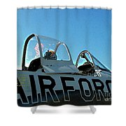 Air Force  Shower Curtain