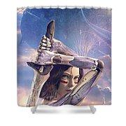 Alita Battle Angel Shower Curtain