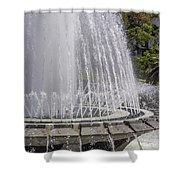 Arthur J. Will Memorial Fountain At Grand Park Shower Curtain