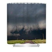 August Thunder 036 Shower Curtain by Dale Kaminski