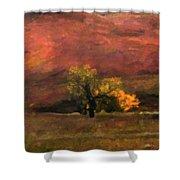 Autumn Shower Curtain by Gerlinde Keating - Galleria GK Keating Associates Inc