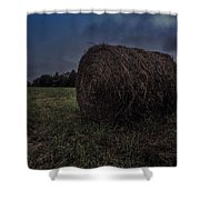 Round Bale 2 Shower Curtain