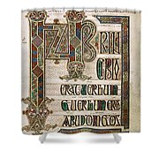 Book Of Lindisfarne Shower Curtain