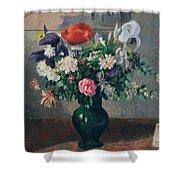 Bouquet Of Flowers, 1898 Shower Curtain