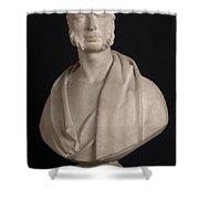 Bust Portrait Of Wynn Ellis Mp  Shower Curtain