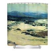 Carmel Shore 1919  Shower Curtain