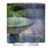 Castel Fountain Shower Curtain