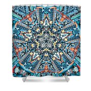 City Walls Shower Curtain