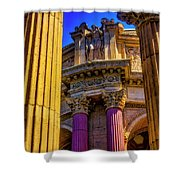 Columns Of The Palace Of Fine Arts Shower Curtain