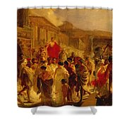 Death Of Virginia Study  Shower Curtain
