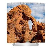 El Portal Arch Shower Curtain
