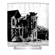 Elkhorn Ghost Town Montana Shower Curtain