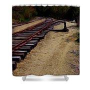 Ellsworth Tracks  Shower Curtain