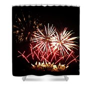 Firework Display Shower Curtain