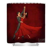 Foxtrot Shower Curtain