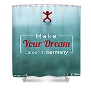 Free Study Abroad Consultant Shower Curtain