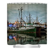 Full House 2 Shower Curtain by Randy Hall