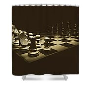 Game Of Kings Shower Curtain