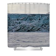 Glacier Front On Svalbard Shower Curtain