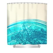 Glass Bowl, Close Up Shower Curtain