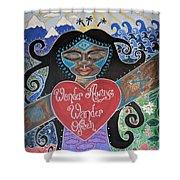 Goddess Of Wonder Shower Curtain