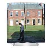 Guard Duty Shower Curtain