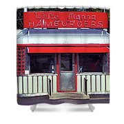 Hackensack, Nj -  Burger Joint 2018 #2 Shower Curtain