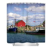 Hall's Harbour 01 Shower Curtain