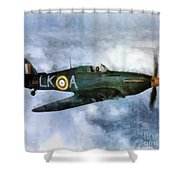 Hawker Hurricane, Wwii Shower Curtain