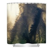 High Surf Explosion Shower Curtain