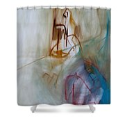 Horsemen  Shower Curtain