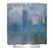Houses Of Parliament, London Shower Curtain