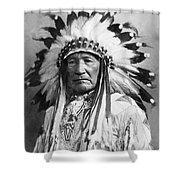 Indian Chief Shower Curtain
